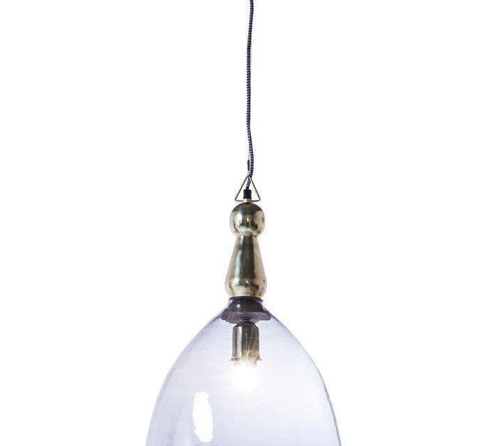 KARE DESIGN Loftlampe, Dusty Bell Blå 48cm
