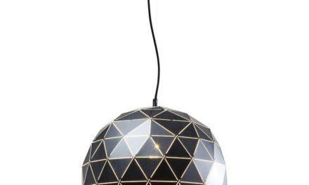 KARE DESIGN Loftlampe, Triangle Sort Ø40cm
