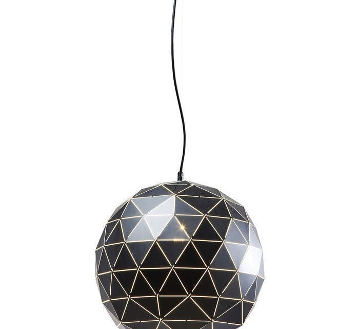 KARE DESIGN Loftlampe, Triangle Sort Ø40cm