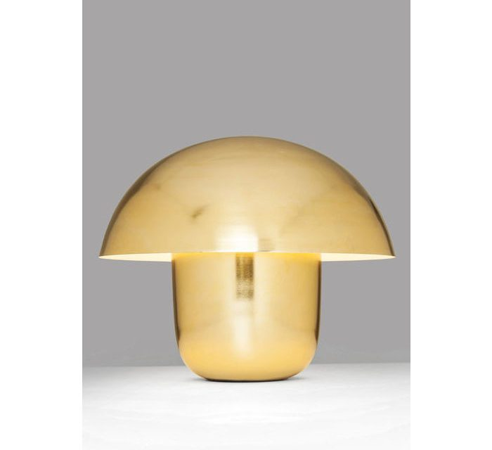 KARE DESIGN Bordlampe, Mushroom Messing
