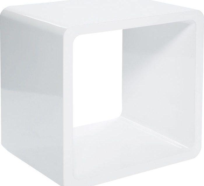 KARE DESIGN Hyldereol, Lounge Cube MDF Hvid