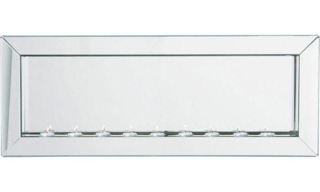 KARE DESIGN Spejl, Big Beauty Candle Light 90×35
