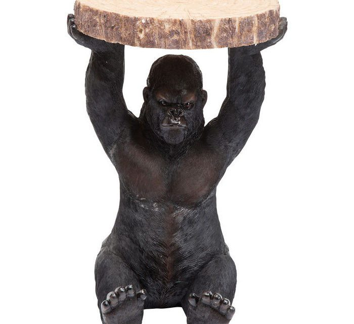 KARE DESIGN Sidebord, Animal Gorilla Ø37cm