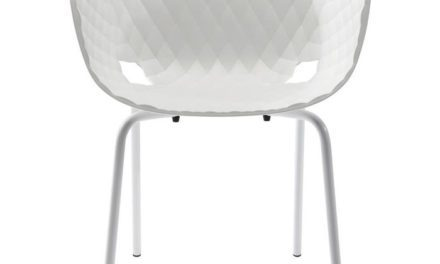 KARE DESIGN Stol med armlæn, Radar Bubble Hvid