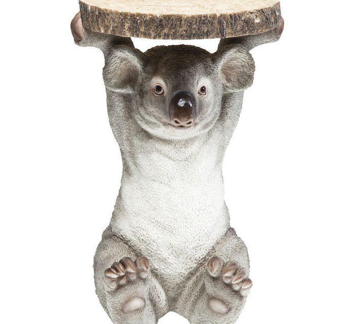 KARE DESIGN Sidebord, Animal Koala Ø33cm