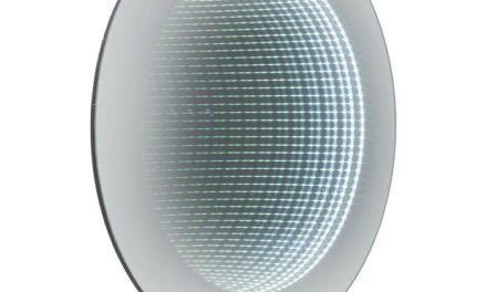 KARE DESIGN Vægkunst, Mirror Tube Ø80cm LED