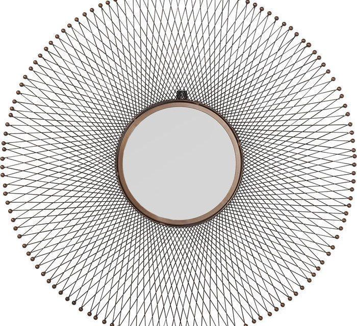 KARE DESIGN Spejl, Wire Coachella Ø85cm