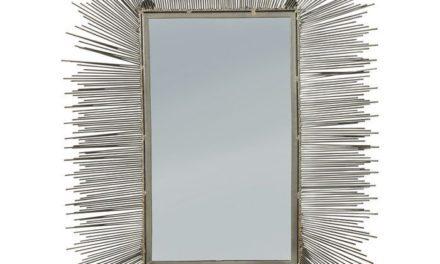 KARE DESIGN Spejl, Wire Radiation 80x60cm