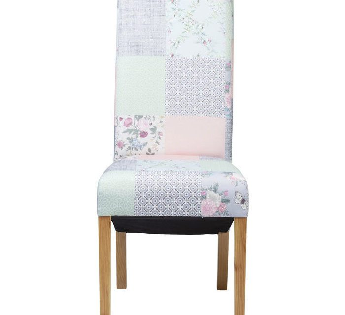 KARE DESIGN Stol, Patchwork Powder