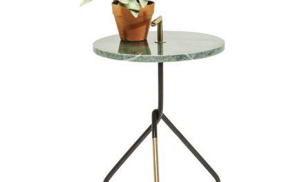 KARE DESIGN Sidebord, Doblado grøn Ø37cm