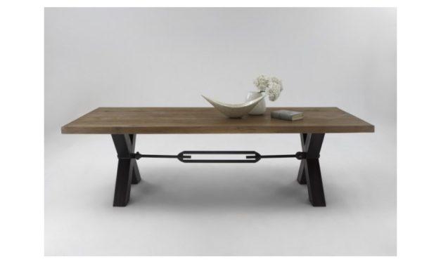Plankebord i Eg – Mocca Black (220 x 100 cm)