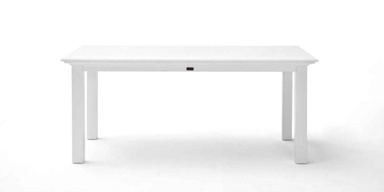 NOVASOLO Halifax spisebord – hvid (160×90)