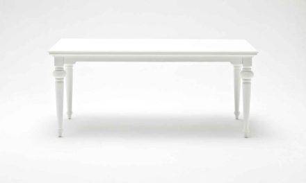 NOVASOLO Provence spisebord – hvid (180×90)