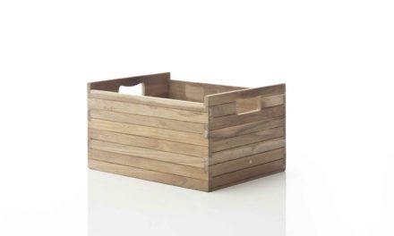 NOVASOLO Teak kasse, mellem