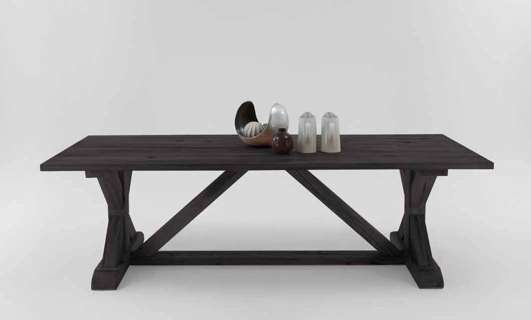 Versailles plankebord mocca black 240 x 100 cm