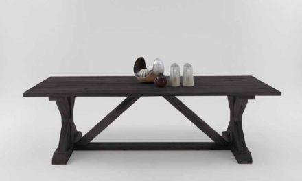 Versailles plankebord mocca black 260 x 110 cm