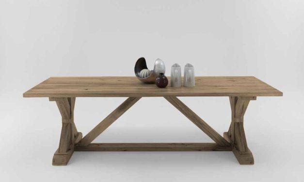 Bodahl Versailles plankebord i flot egetræ