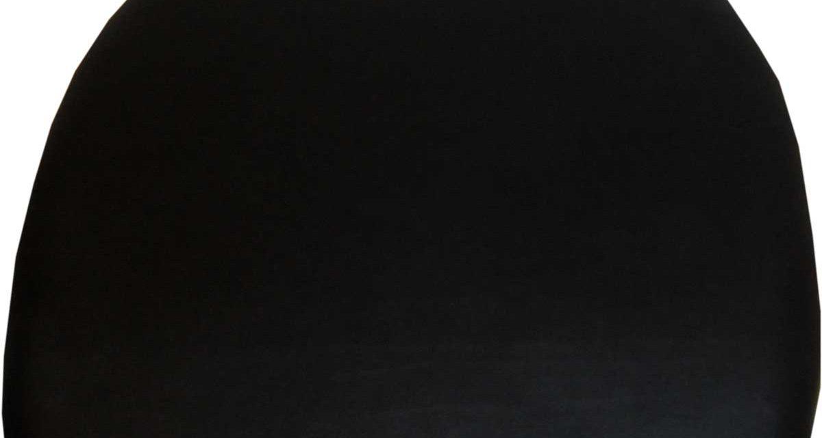 TRADEMARK LIVING Sædehynde i sort læder til Living Stol