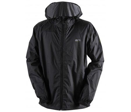 2117 Of Sweden Vedum Rain Jacket Men – Regnjakke Til Herre – Sort