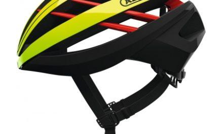 Abus Aventor – Cykelhjelm – Neon gul