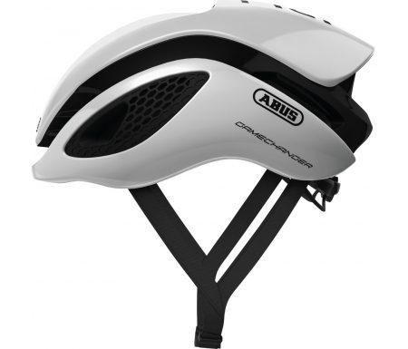 Abus GameChanger – Aero cykelhjelm – Hvid