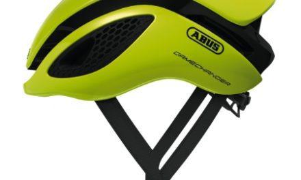 Abus GameChanger – Aero cykelhjelm – Neon gul