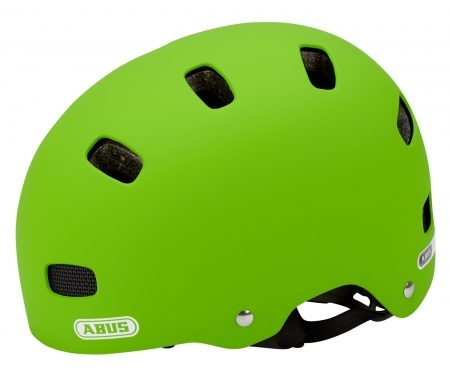 Abus Scraper Kid v.2 cykelhjelm – Str. 48-55 cm – Grøn