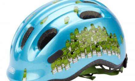 Abus Smiley 2.0 – Cykelhjelm – Blå/grøn