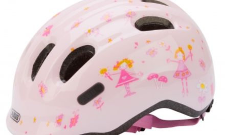 Abus Smiley 2.0 – Cykelhjelm – Rosa