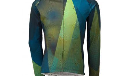 AGU Evolution Conquer – Langærmet Cykeltrøje – Herre – Blå/Grøn