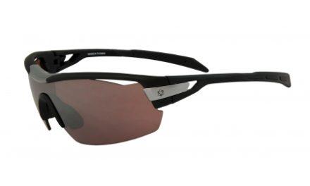 AGU Foss Shield HD – Sports- og cykelbrille med 3 sæt linser – Sort