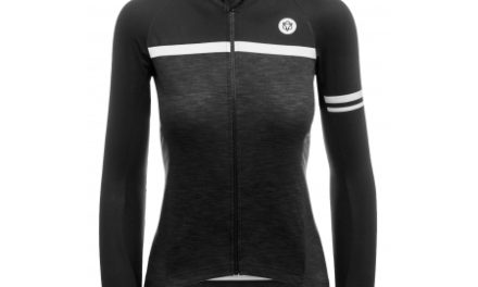 AGU Jersey LS Essential Blend – Dame cykeltrøje – Sort/Grå
