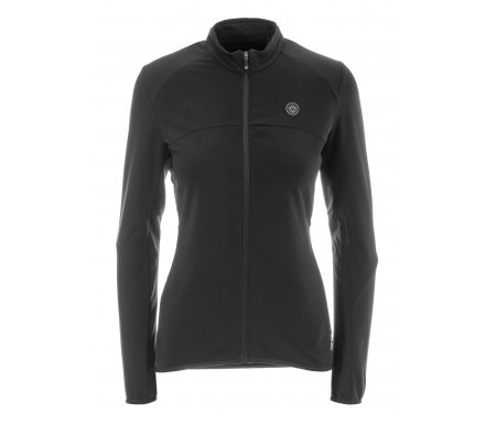 AGU Jersey LS Essential Thermo – Dame cykeltrøje – Sort