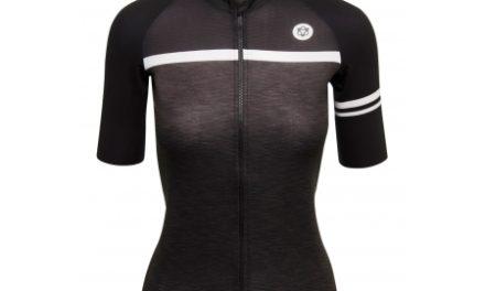 AGU Jersey SS Essential Blend – Dame cykeltrøje – Sort/Grå