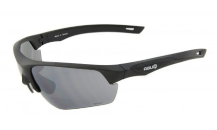 AGU Medina Bifocal – Cykelbrille med læsefelt og 3 sæt linser – Sort
