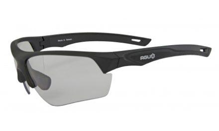 AGU Medina – Sports- og cykelbrille med fotokromiske linser – Sort