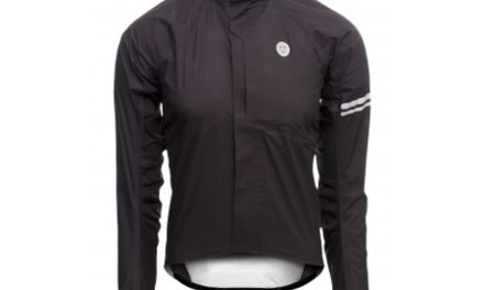 AGU Premium Lightweight Rain Jacket – Cykelregnjakke – Sort