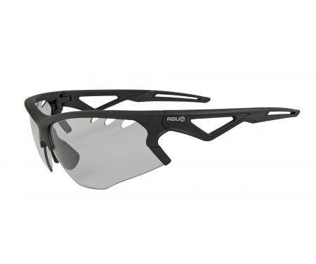AGU Stark – Sports- og cykelbrille med fotokromiske linser – Sort