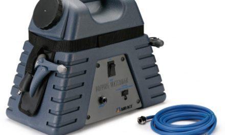 Airace – Driving Waterman – Højtryksrenser – 12Volt – Blå – Transportabel