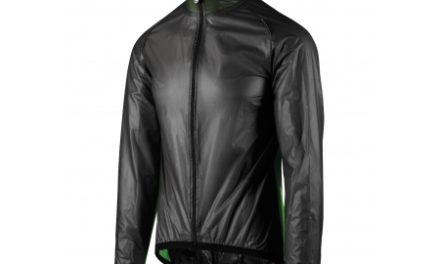 Assos Mille GT Climajacket – Cykel regnjakke – Sort/grøn