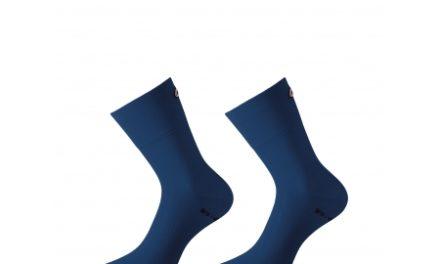 Assos Mille GT Sock – Cykelstrømpe – Blå