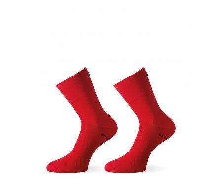 Assos Mille GT Sock – Cykelstrømpe – Rød