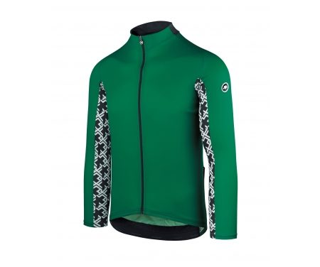 Assos Mille GT Summer Jersey – Cykeltrøje m. lange ærmer – Grøn