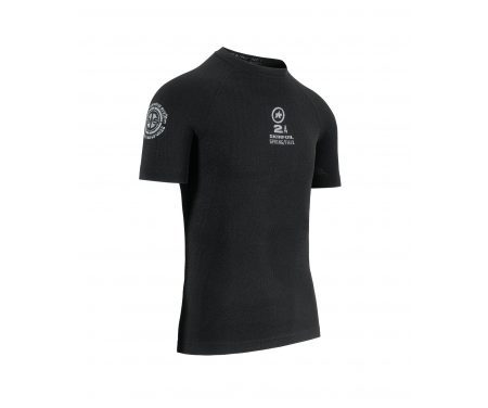 Assos SS Skinfoil Spring/Fall – Svedundertrøje T-Shirt – Sort