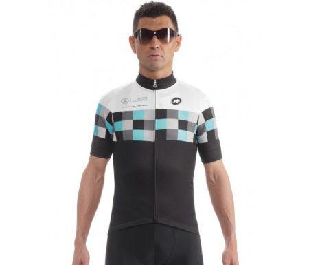 Assos SS.works_teamJersey_Evo8 – Cykeltrøje med korte ærmer – Sort