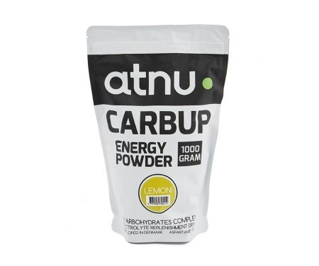 Atnu Carbup Energipulver – Lemon – 1000 gram