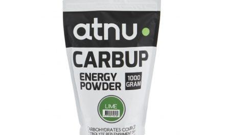 Atnu Carbup Energipulver – Lime – 1000 gram