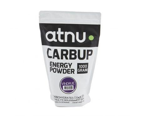 Atnu Carbup Energipulver – Vindrue – 1000 gram