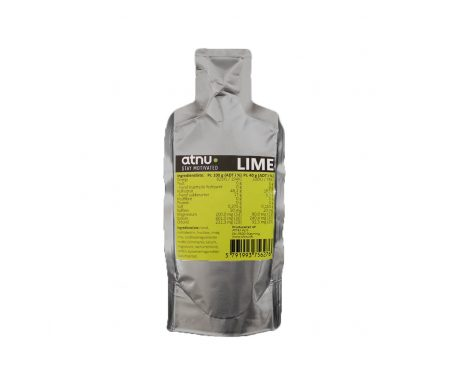 Atnu Energigel – Lime med coffein – 40 gram