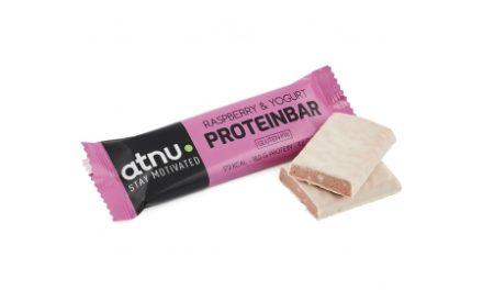 Atnu Proteinbar – Hindbær – 50 gram